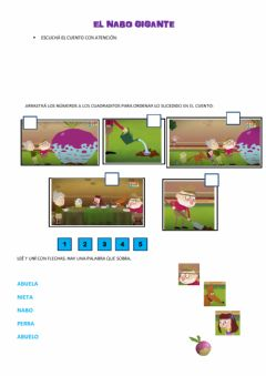 Interactive worksheet Hora de lectura