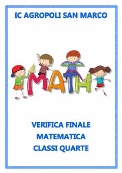 Interactive worksheet Verifica matematica classe quarta