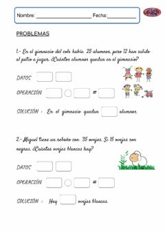 Interactive worksheet Ficha problemas 2