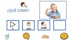 Interactive worksheet Que come