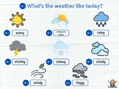 Interactive worksheet Weather 1