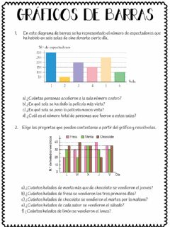 Interactive worksheet Gráficos de barras