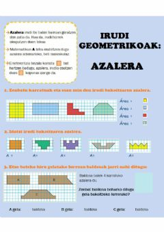 Interactive worksheet Azalera
