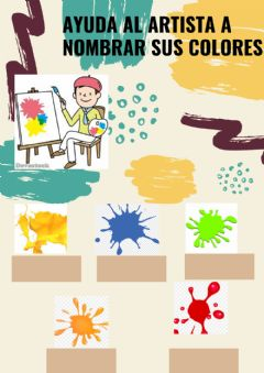 Interactive worksheet Ayuda al artista