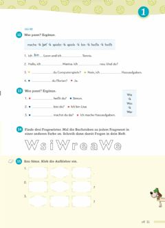 Interactive worksheet Verben