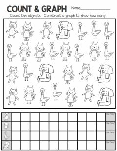 Interactive worksheet Count and Graph Mo Willems