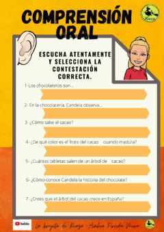 Interactive worksheet Nº1-comprensión lectora 3º