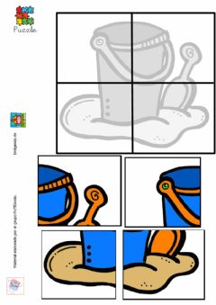 Interactive worksheet Puzzle cubo