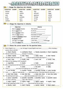 Ficha interactiva Adverbs