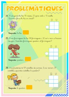 Interactive worksheet Problematiques 24-29