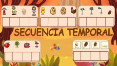 Interactive worksheet Secuencia temporal 01