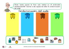 Interactive worksheet Contaminación del suelo