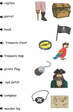 Ficha interactiva Pirates 1