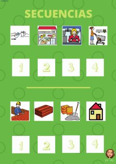 Interactive worksheet SECUENCIAS 4 elementos