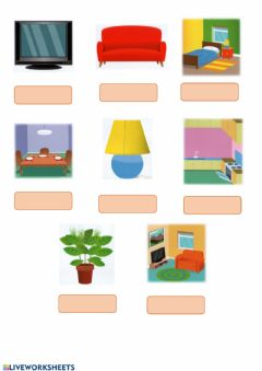 Ficha interactiva First Friends 2, Unit 5, My Home