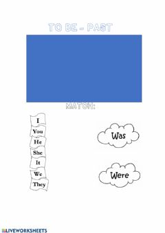 Interactive worksheet To be past