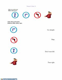 Interactive worksheet Smart time 6