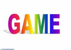 Interactive worksheet MY CLASSROOM-GAME