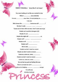 Interactive worksheet Let's listen and fill the gaps