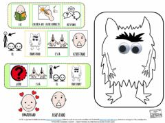 Interactive worksheet Emociones, asustado