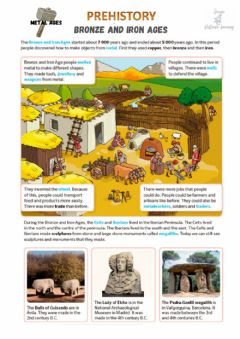 Interactive worksheet Bronze and iron ages