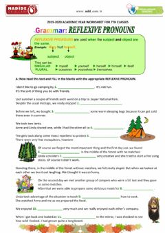Interactive worksheet 7th Reflexive Pronouns-1