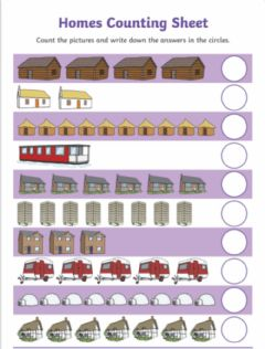 Interactive worksheet Counting numbers 1-10