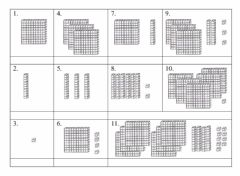 Interactive worksheet Counting Blocks