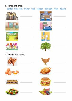 Interactive worksheet Vocabulary revision