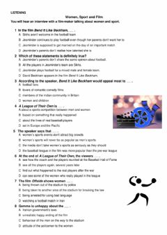Interactive worksheet Listening and Reading