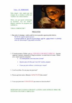 Interactive worksheet El terrisser