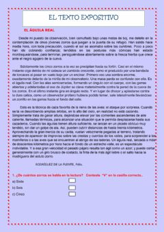 Interactive worksheet Textos expositivos