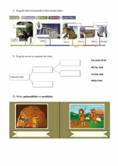 Interactive worksheet Stone age