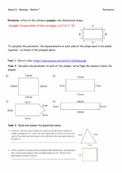 Interactive worksheet Week 9 - Monday - Maths -