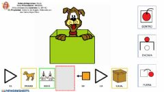 Interactive worksheet Dentro