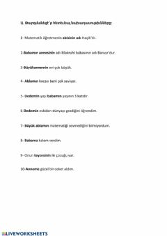 Interactive worksheet Armenian holovum 4