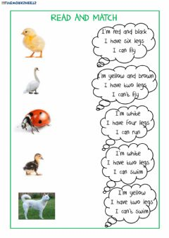 Interactive worksheet Who am I ?