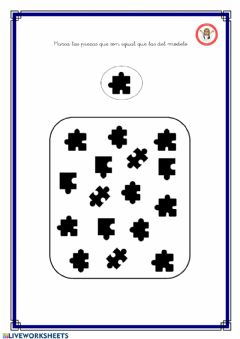 Interactive worksheet Puzzle 1