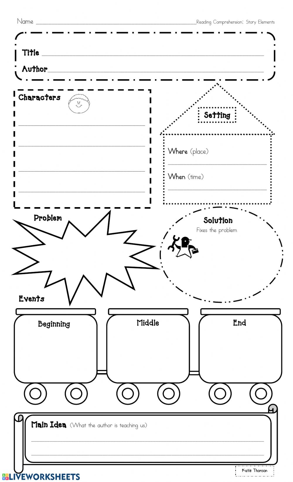 Thinking within the text graphic organizer. worksheet