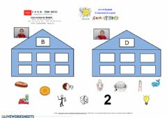 Interactive worksheet Discriminación B Y D