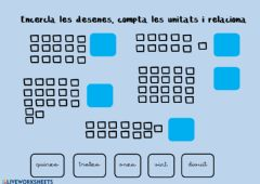 Interactive worksheet Desenes