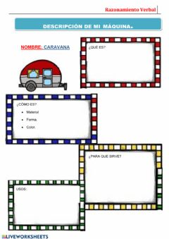 Interactive worksheet Maquinas 3