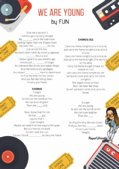 Interactive worksheet We are young by Fun