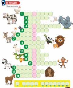 Ficha interactiva 2.10 animals puzzle