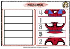 Interactive worksheet Puzzle Spiderman
