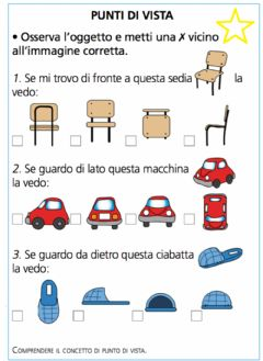 Interactive worksheet Punti di vista