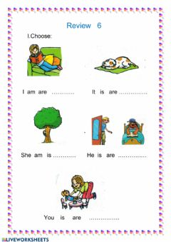 Interactive worksheet Review 6