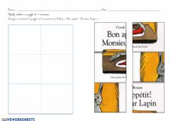 Interactive worksheet Bon appétit! Monsieur lapin