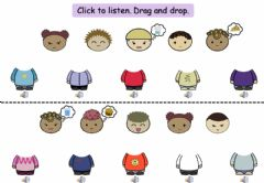 Interactive worksheet 4.2 Listening Game