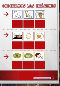 Interactive worksheet Ordenamos la secuencia